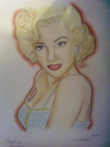 Marilyn Monroe by nathalie94